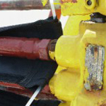 Hydraulic hose covers